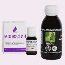 Лосьон Молюстин (15 мл.) + Масло черного тмина BIOIL