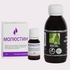 Лосьон Молюстин (8 мл.) + BIOIL Масло черного тмина